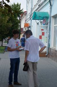 В субботу в Новочеркасске местные жители высказали своё мнение по поводу выноса продажи алкоголя и табака за город.
