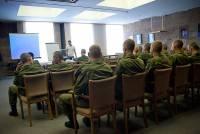 Солдатам срочной службы рассказали о трезвости