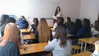 21 октября состоялся очередной урок Трезвости в академии предпринимательства