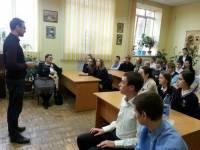 12 ноября состоялся урок Трезвости для учеников 66ой школы РостованаДону