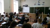 5го мая состоялся урок Трезвости в школе № 43 г.РостованаДону