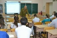 28 ноября в хуторе Калинин состоялись патриотические уроки для старших классов.
