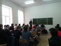 очередные уроки Трезвости в Ростовском колледже связи и информатики РКСИ.