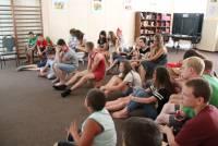 5 июля, Трезвый Дон провел 3 урока Трезвости в детском летнем лагере Золотая Коса