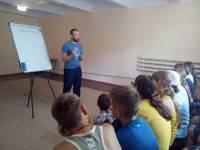 В прошлое воскресенье мы традиционно проводили уроки Трезвости в детском лагере