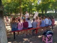 Летние каникулы в разгаре, а учителя Трезвости из Ростова продолжают вести уроки