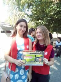 В свой юбилей «Трезвый Дон» организовал акцию приуроченную к Дню Трезвости в городе Зверево