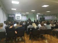 10 ноября состоялась встреча «Трезвого Дона» со старшеклассниками школ Первомайского района г.РостованаДону