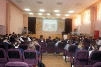 16 ноября состоялась встреча «Трезвого Дона» со старшеклассниками школ Железнодорожного района г.РостованаДону
