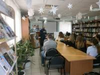 Урок Трезвости в библиотеке имени Ленина