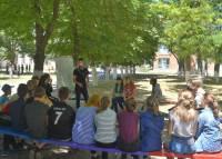 11 июня мы провели 6 уроков Трезвости в лагере «Орлёнок»